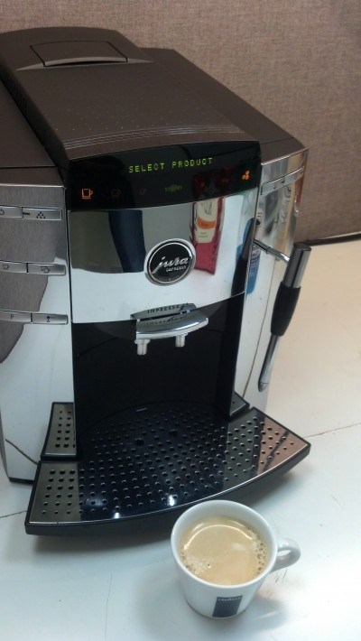 Espresso and SEO, picture of coffee machine to demonstrate