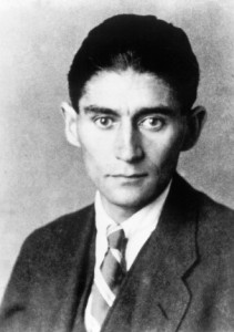 picture of author franz kafka