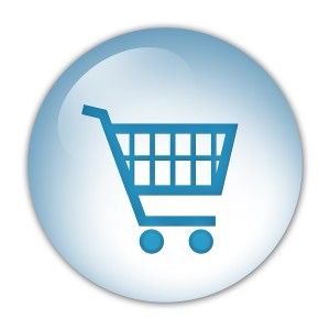 icon quality shopping cart links through google