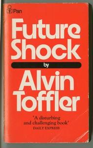 Picture of Alvin Toffler's book Future Shock