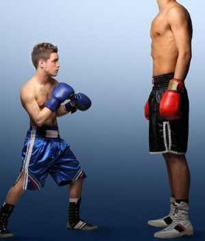 Picture of small boxer to illustrate how digital maketing helps small brands compete online